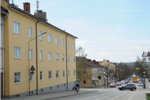 Fasad från Kristianstadsvägen.