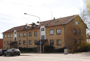 Fasad mot Södergatan.