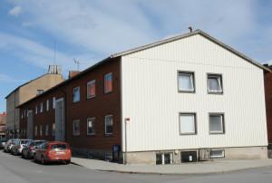 Fasad mot Södra Torggatan.