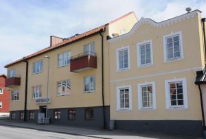 Fasad mot Slagtoftavägen.